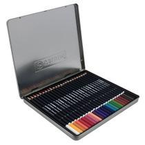 Lapis de Cor 24 Cores Redondo Stabilo Schwan Art Caixa Metalica -