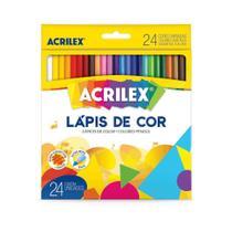 Lapis de Cor 24Cores Acrilex -