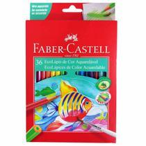Lápis de Cor 36 Cores Aquarela Faber Castell -