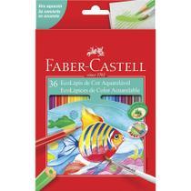 Lapis de cor 36 cores aquarelavel faber castell - Faber-Castell