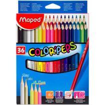 Lapis De Cor 36 Cores Colo Peps Maped -