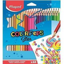 Lápis de Cor - 48 Color Peps - Maped