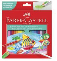 Lápis de Cor 48 Cores Aquarelavel Faber-castell - Faber Castell -