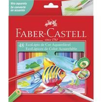 Lapis de cor 48 cores aquarelavel faber castell - Faber-Castell