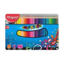 Lápis de Cor 48 Cores Color Peps Maped -
