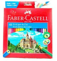Lapis De Cor 48 Cores Ecolapis Faber Castell -