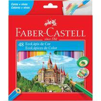 Lápis de Cor 48 Cores - Faber Castell -