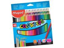 Lápis de cor 48 cores Maped Color Peps -