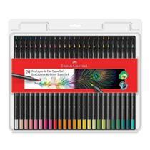 Lapis de cor 50 cores super soft faber castell -