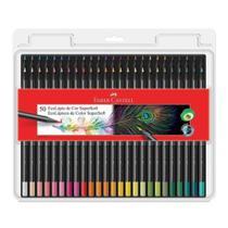 Lapis de cor 50 cores Supersoft Faber Castell -