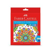 Lapis de Cor 72 Cores Faber Castell -
