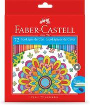 Lápis De Cor 72 Cores Sextavado Ecolapis Faber-Castell Original Edição Limitada -