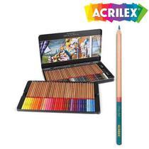 Lapis De Cor 72 Unidades Fine Art 09672 Acrilex - Acrilex Tintas Especiais S/A