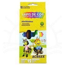 Lápis de Cor Acrilex - 12 cores -