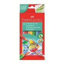 Lapis de Cor Aquarelavel 12 Cores Faber Castell -