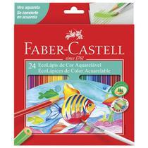 Lapis de Cor Aquarelavel 24 Cores Faber Castell -