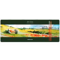 Lápis de Cor Aquarelável Art Color com 48 cores - Compactor -