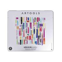 Lapis de Cor Aquarelavel Artools 24 Cores -