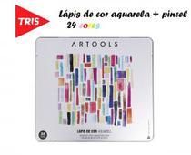 Lápis de cor Aquarelavel Artools Lata 24 Cores Tris - Summit
