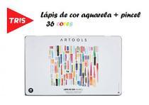 Lápis de cor Aquarelavel Artools Lata 36 Cores Tris - Summit