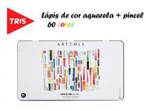 Lápis de cor Aquarelavel Artools Lata 60 Cores Tris - Summit