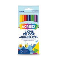 Lapis De Cor Aquarelavel C/12Cores - Acrilex -
