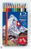 Lápis de Cor Aquarelável Caran d'Ache Prismalo I 012 Cores 999.312  999.312 -