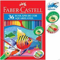 Lapis de cor aquarelavel com 36-120236g - Faber Castell
