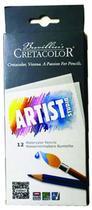 Lápis de Cor Aquarelável Cretacolor Brevilliers Artist Studio 012 Cores 28310  28310 -