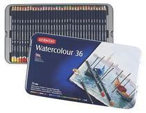 Lápis de Cor Aquarelável Derwent Watecolour Estojo Metal 036 Cores 32885  32885 -