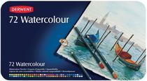 Lápis de Cor Aquarelável Derwent Watecolour Estojo Metal 072 Cores 32889  32889 -