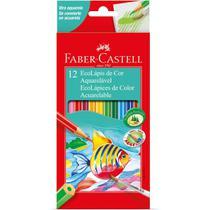 Lapis de COR Aquarelavel Ecolapis 12 Cores - Faber-castell