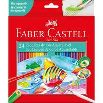 Lapis de cor aquarelavel ecolapis 24 cores pct.c/06 - Faber-Castell