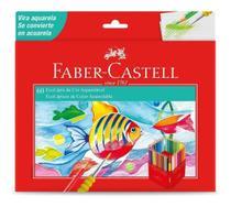 Lapis de cor (aquarelavel) Ecolapis 60 Cores Faber-Castell - Faber Castell