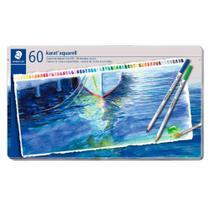 Lápis De Cor Aquarelável Karat Staedtler 60 Cores -