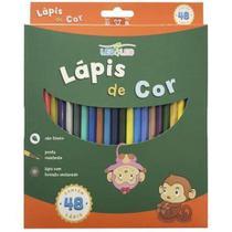 Lápis de cor aquarelável Leo&Leo 48 cores -
