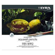 Lapis de Cor Aquarelavel Lyra Rembrandt 24 Cores -