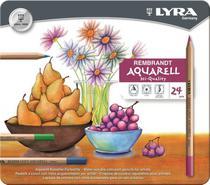 Lápis de Cor Aquarelável Lyra Rembrandt Aquarell 024 Cores 2011240 2011240 -