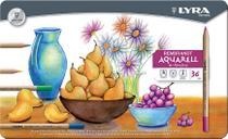 Lápis de Cor Aquarelável Lyra Rembrandt Aquarell 036 Cores 2011360 2011360 -