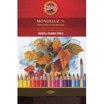 Lapis de cor aquarelavel mondeluz com 36 cores - k3719e - Koh-I-Noor