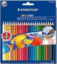Lapis de cor aquarelavel noris 24 cores -144 10nc24 - Staedtler