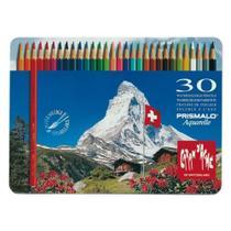Lápis de Cor Aquarelável Prismalo 30 Cores Caran D'Ache - Caran Dache