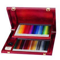 Lápis de Cor Aquarelável Stabilo Wooden Estojo Madeira 060 Cores 1460-1  1460-1 -