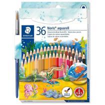 Lapis de Cor Aquarelavel STAEDTLER 36 Cores + Pincel -