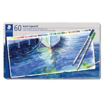 Lápis de Cor Aquarelavel Staedtler Karat 60 Cores - Staedler