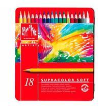 Lápis de Cor Aquarelável Supracolor Caran D'Ache 18 Cores - Caran Dache