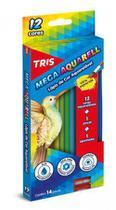 Lápis de Cor Aquarelável Tris Mega Aquarell 012 Cores 681047 681047 -
