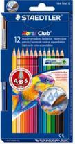 Lapis de cor c/12 cores noris club aquarelavel c/ pincel - 144 10nc12 - Staedtler