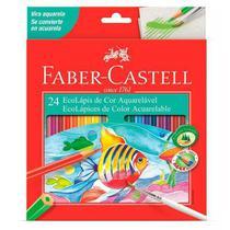 Lapis de cor c/ 24 aquarelavel - faber castell - Faber-Castell