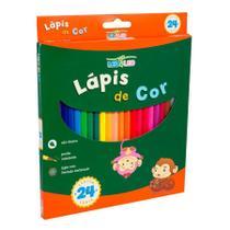 Lapis de cor c/ 24 cores sext flex - leonora - Leo&Leo